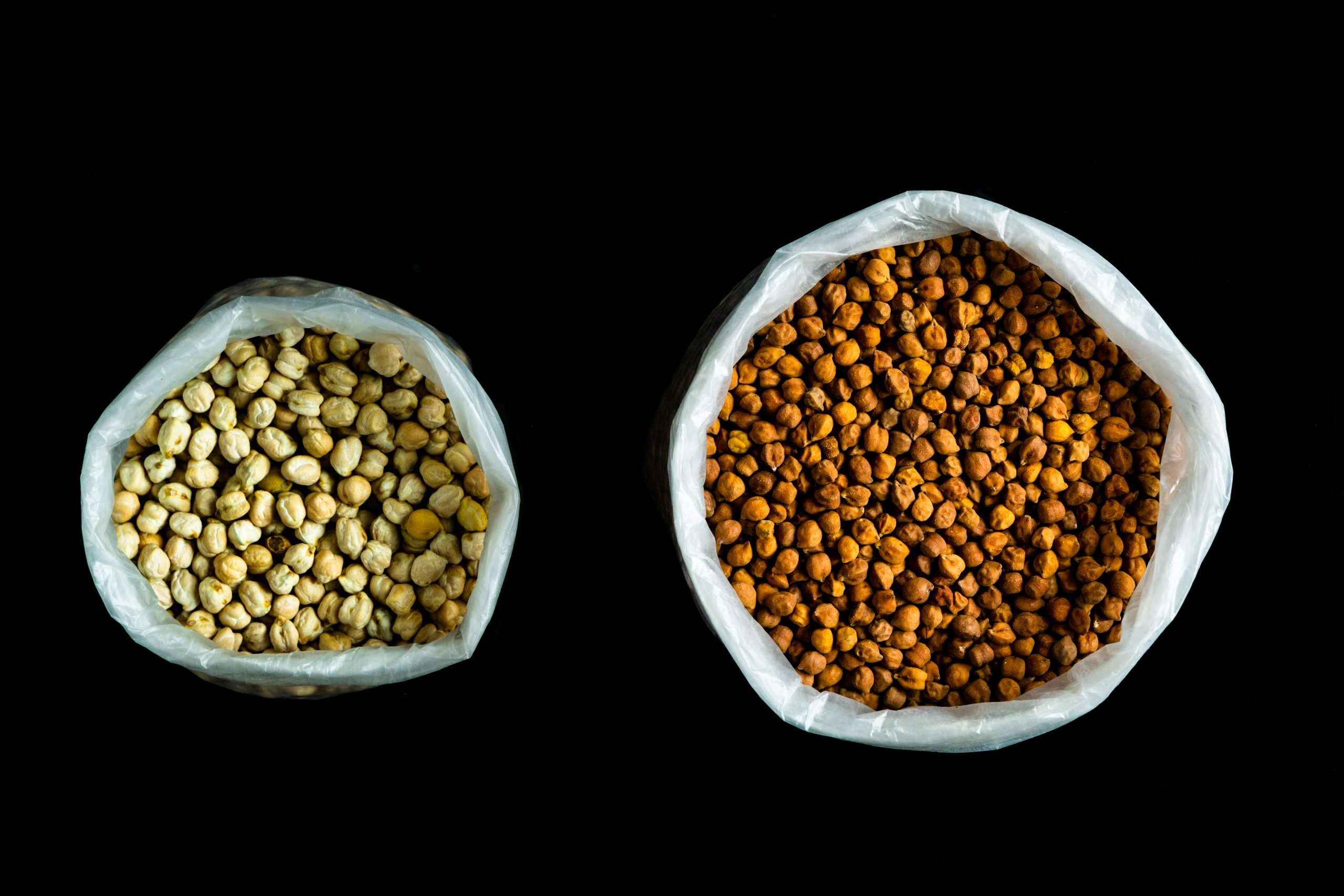 benefits of eating soaked black chickpeas in morning